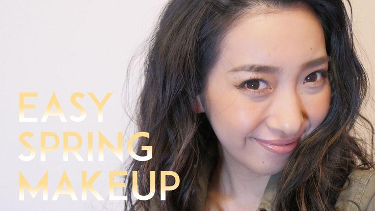 簡単!春メイク / Easy Spring Makeup - YouTube