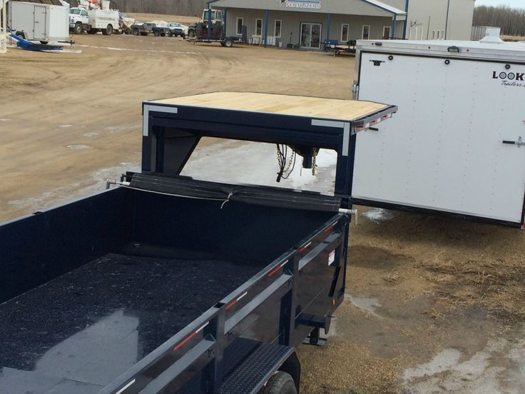 DumpBox Gooseneck 35833 16' x 83 14K trailers-3