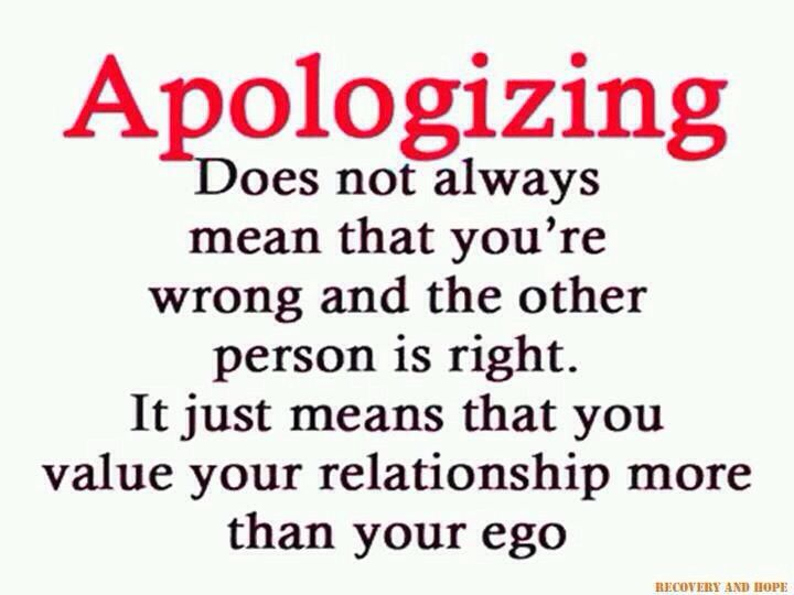 Dont Be Too Proud To Apologize Quotes Quotes Sayings Mistake