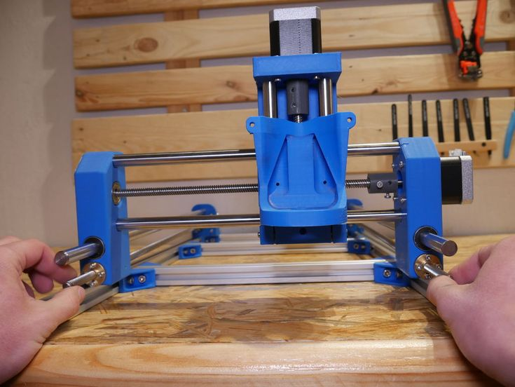 DIY 3D Printed Dremel CNC 3d drucker