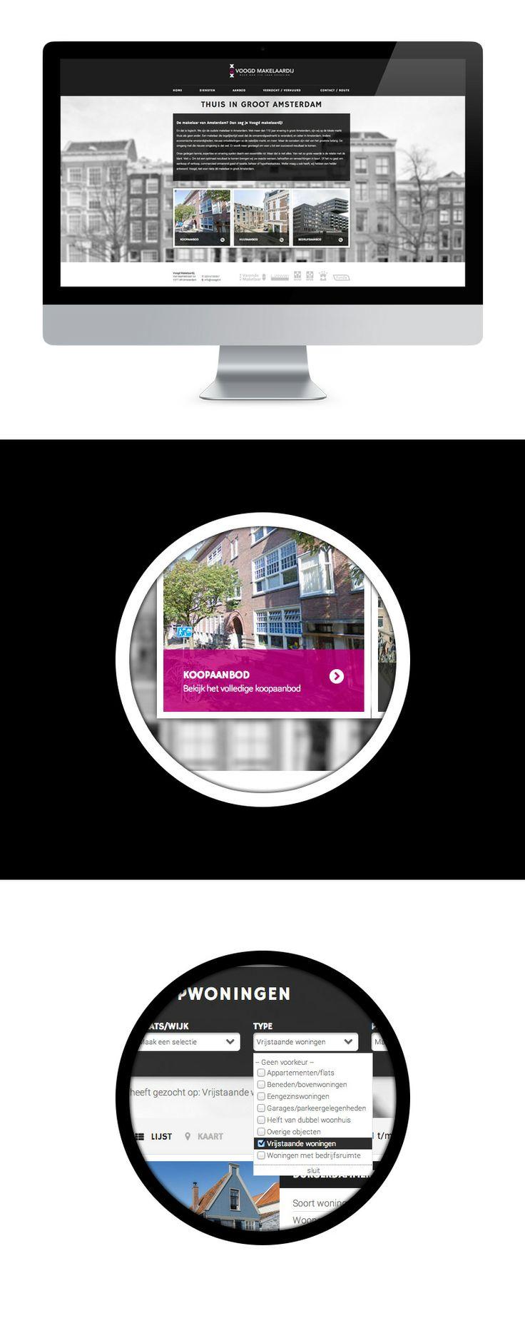 Voogd Makelaardij heeft vandenbusken gevraagd om hun bestaande website te restylen en de copy voor zoekmachines te optimaliseren. Verder is de website gemoderniseerd naar de huidige standaarden.