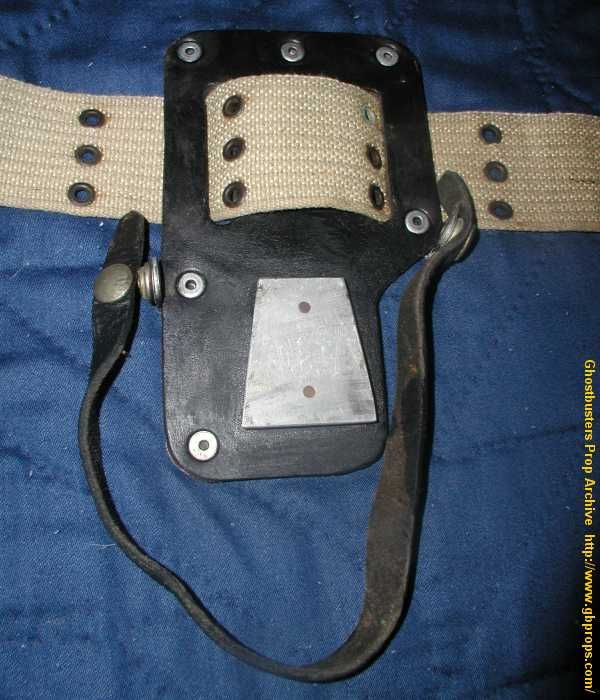 Ernie Hudson's Stunt Belt From Ghostbusters II - Reference - Equipment - Ghostbusters Fans