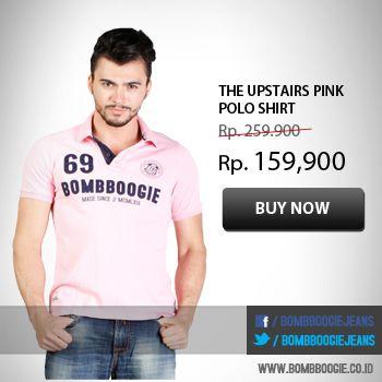 Suka pake Polo Shirt? di kami lagi diskon lho 20% dari tgl 25-30 Nov 2013. Cek di: www.bombboogie.co.id