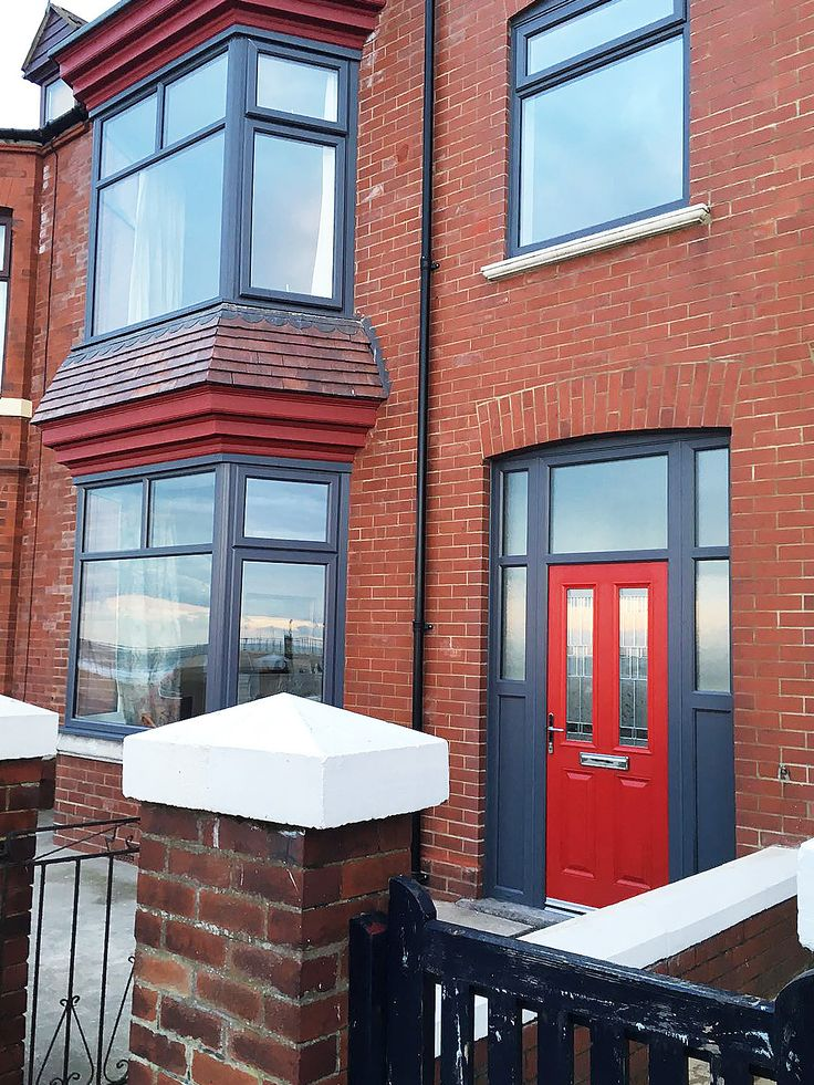 Red Brick Modern House Exterior