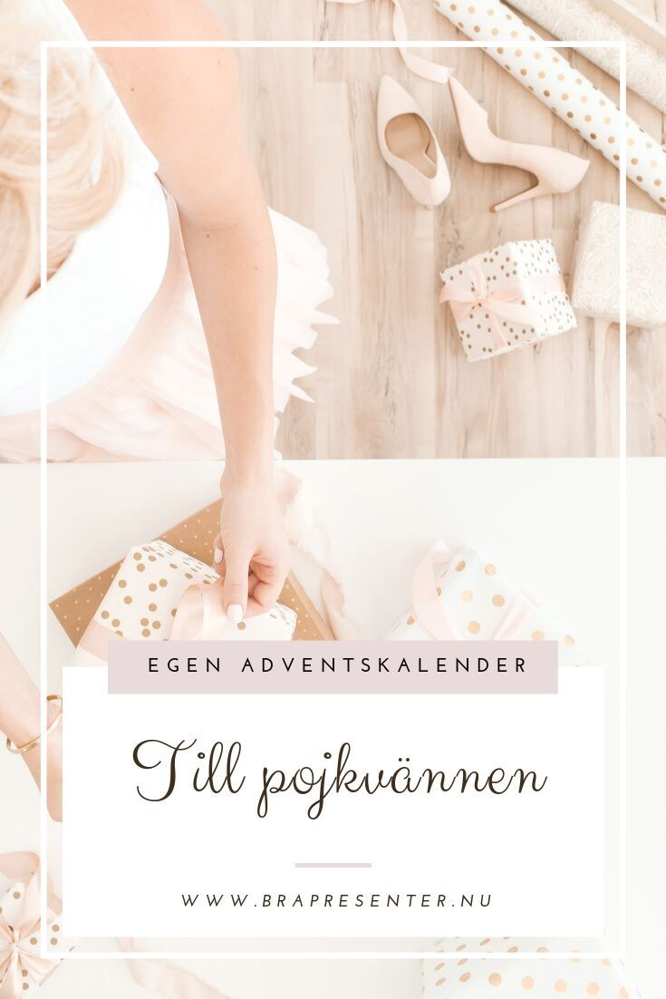 presenter till paketkalender