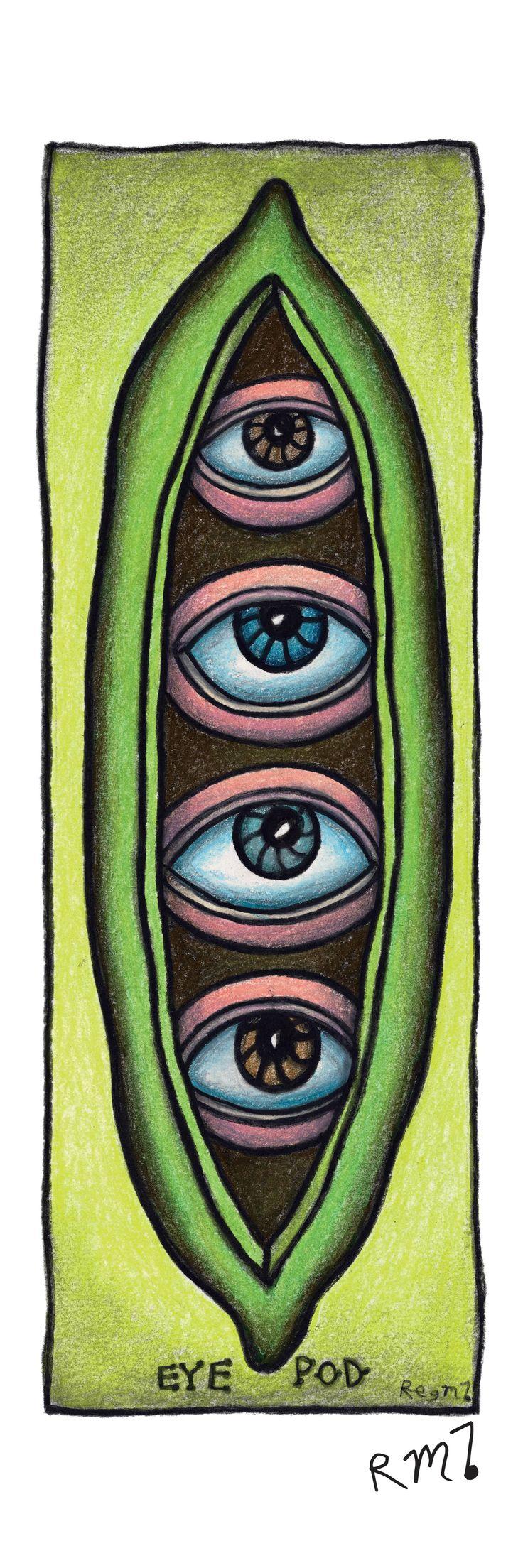 Reg Mombassa ~ NYE2013 Tribute Banner : Eye Pod
