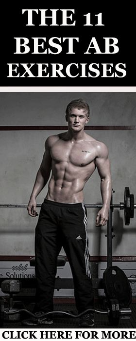 Here are 11 of the best ab exercises that will give you a six-pack in no-time