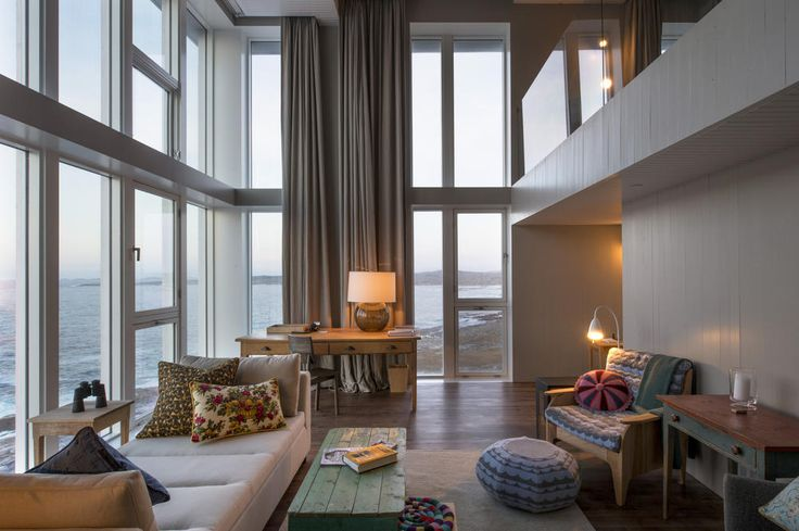 The Flat Earth suite is oriented to the east and is a distinctive two-storey corner with commanding views to the north, east, and south.