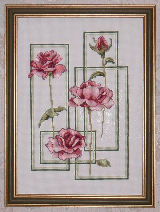 Framed Roses (Pg 1 of 3)