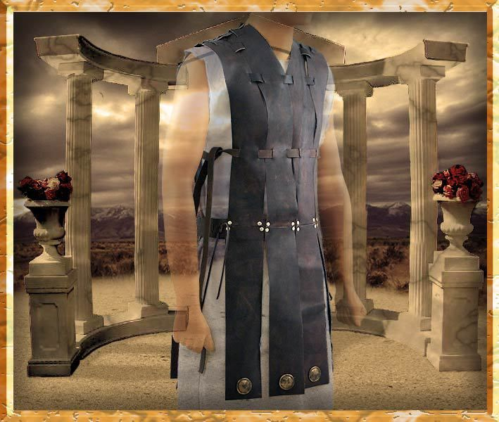 Todd's Costumes  - Gladiator Costume | Leather Tabard, $299.95 (http://www.toddscostumes.com/costumes/movie-costumes-gladiator/maximus-gladiator-costume-morocco/gladiator-costume-leather-tabard/)
