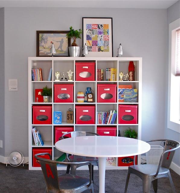 Nook for kidsOrganic Ideas, Kids Spaces, Children Spaces, Boxes Display, Kids Room, Basements Ideas, Shelf Ideas, Kids Book, Boys Room
