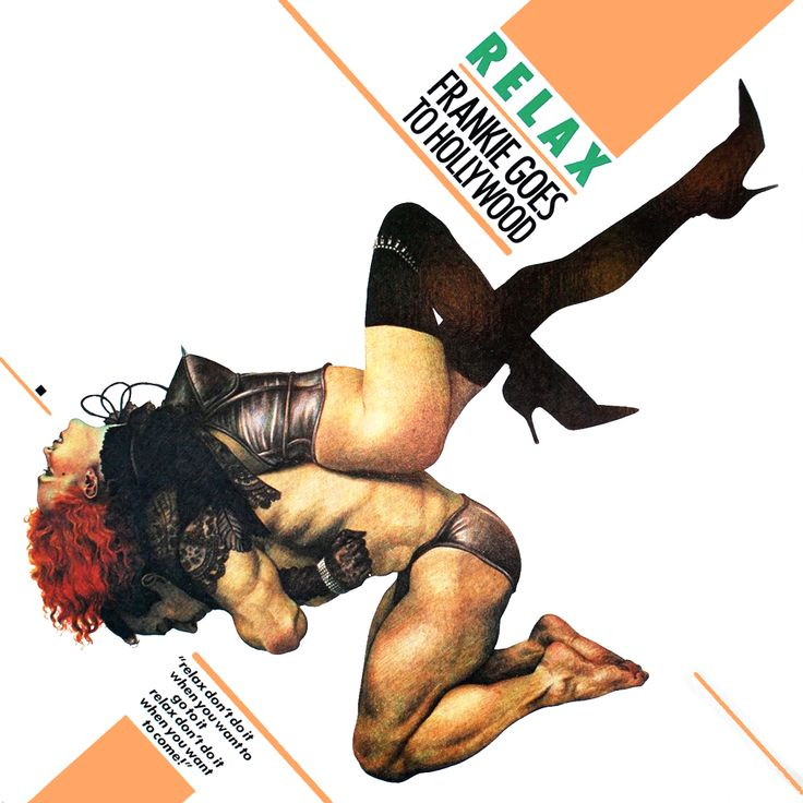 Frankie Goes to Hollywood Relax album cover. LOVE THIS COVER!!!
