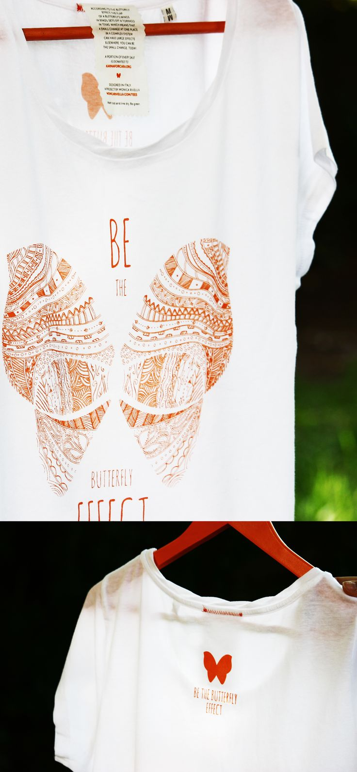 Be the Butterfly Effect and start changing the world! SHOP FOR A CAUSE, part of the proceeds from each t-shirt will be donated to charity. #tshirt #cause #dogood #begood #feelgood #gift #love #friend #change #bethechange #butterfly