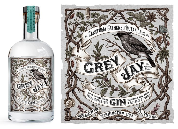 The Grey Jay bird, is from the same mountains where this small batch gin is distilled. It's also known as the 'camp robber', infamous for robbing valuables from the mountains campsites. Just like Grey Jay Gins distillers – who scour and pilfer the best …