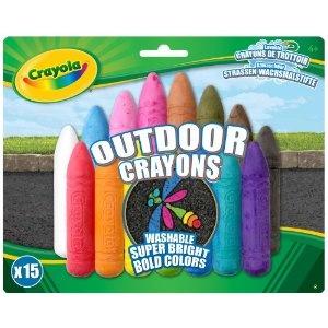 Crayola chalk, so vibrant!