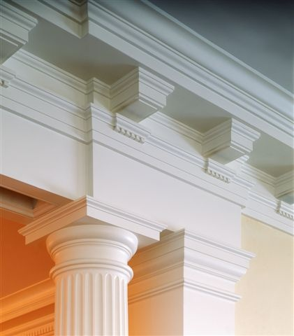 ionic columns and dentil - photo #9