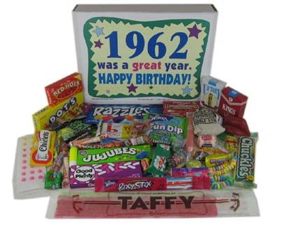 Great 50th Birthday Party Ideas Gift Celebrate 1962