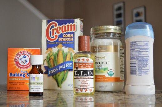 Homemade Deodorant-Antiperspirant: Basic, Easy Recipe