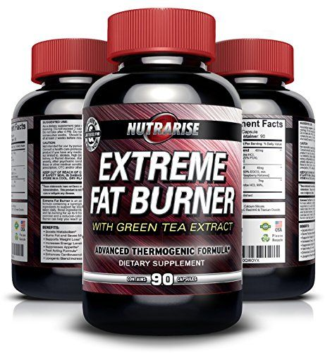 Extreme Thermogenic Fat Burner Weight Loss Pills For Men and Women - With Green Tea Extract, Raspberry Ketones, Yohimbe, L-Tyrosine - Lose Weight Fast, Lose Belly Fat, Appetite Suppressant, Boosts Metabolism, Increases Energy - Fast-acting - 90 Capsules - https://twitter.com/newleafbusines1/status/749912730174316544