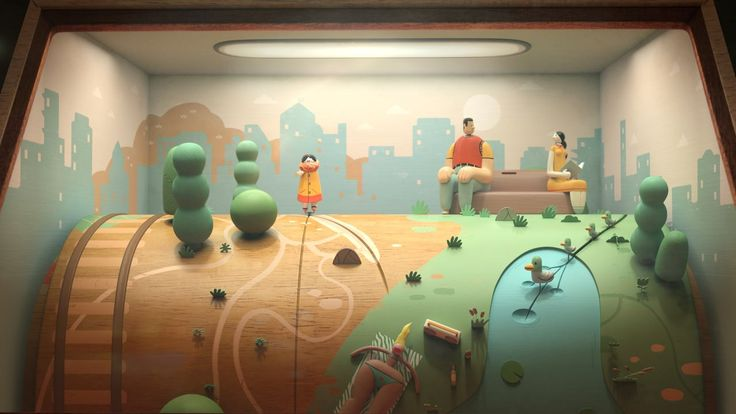 Animator Uri Lotan has created an absolutely hypnotic music video for the Jane Bordeaux song Ma'agalim (Circles). Throughout the video, a wooden penny arcade doll endlessly wanders into different s…