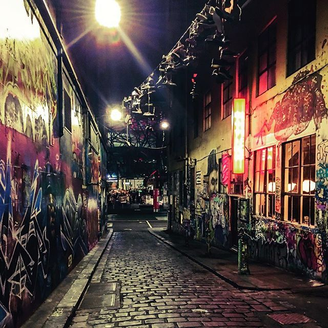 #Melbourne #iphoneonly #cityscape #hosierlane
