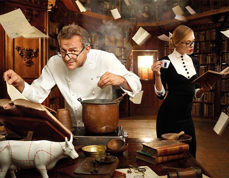 """#Lavazza 2014 calendar: Massimo Bottura """"Food culture"""" January – February"""