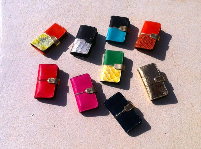Loads of phone covers. Loads of fabulous summer bright colours