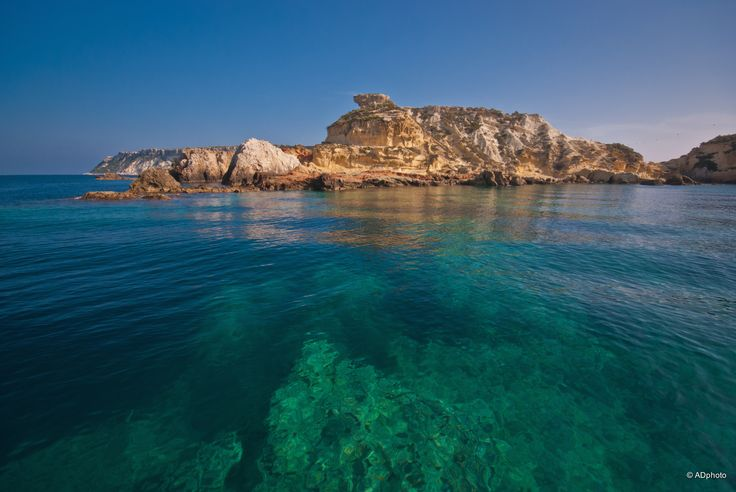 Il mare delle Tremiti…  Trasparenza e limpidezza da ogni punto di vista.