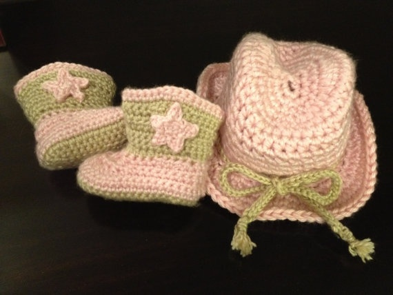 baby cowgirl :)): Cowgirl Boots, Crochet Baby Girls Stuff, Cowboys Hats, Baby Cowgirl, Baby Cowboys, Kids Stuff, Crochet Hats, Baby Hats, Cowgirl Baby