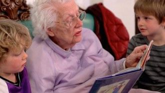How Old Grows Young - Preschools in Nursing Homes Give New Life to Elderly Residents 1