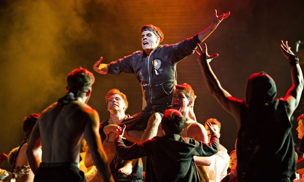 A scene from Matthew Bourne's 2014 dance version of Lord of the Flies.The 100 best novels: No 74 – Lord of the Flies by William Golding (1954)