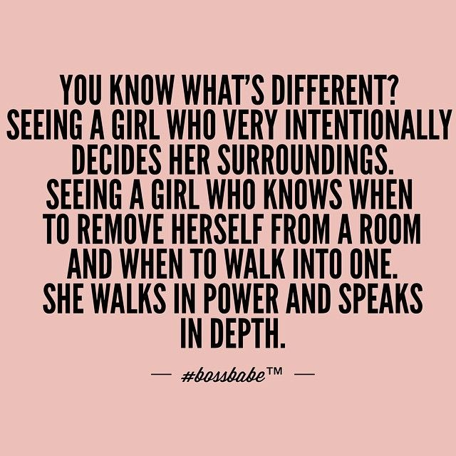 Knows when to remove herself from a situation....  #BOSSBABE™ Classy. Sophisticated. Deep. #motivation #goodquotes