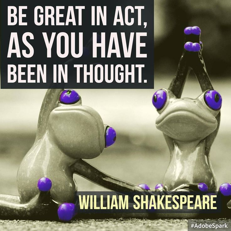 Wise words from Shakespeare the Bard! Great quotes