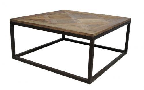 Tøft sofabord i Raffles serien. Bordet er produsert i resirkulert furu og…