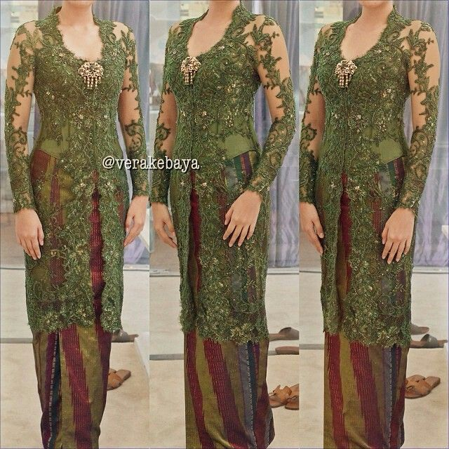 This one is so gorgeous! Vera Kebaya