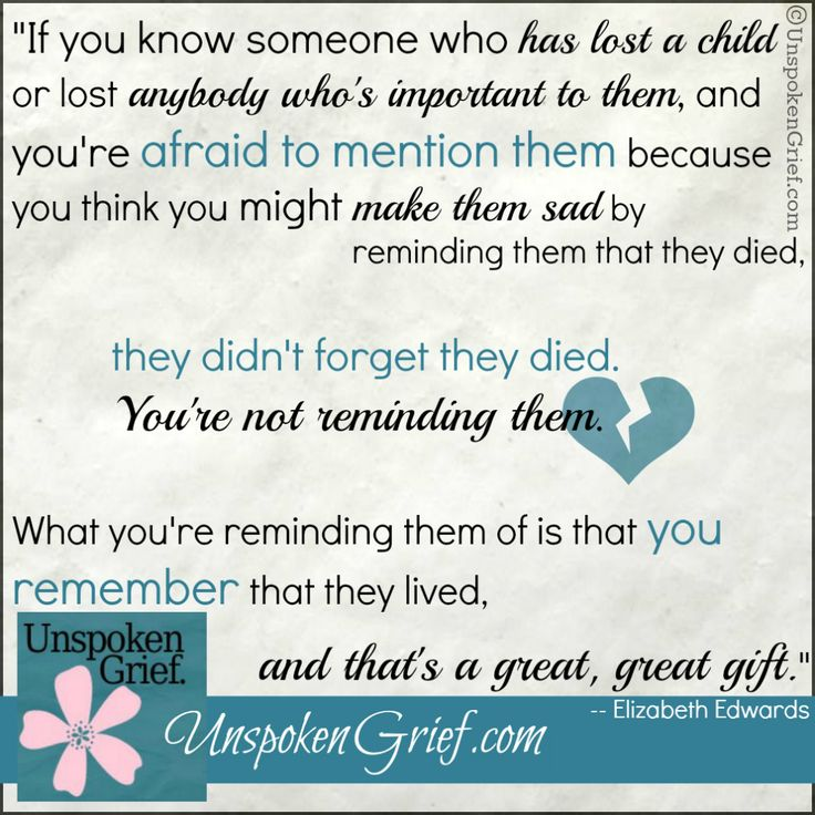 Very true. I don't kind talking about my nephew, in fact I love talking about him. I love keeping his memory alive and remembering all the good times we had with him while he was here. I hate when people think its something bad to talk about, if you're respectful, I don't see anything wrong with it.