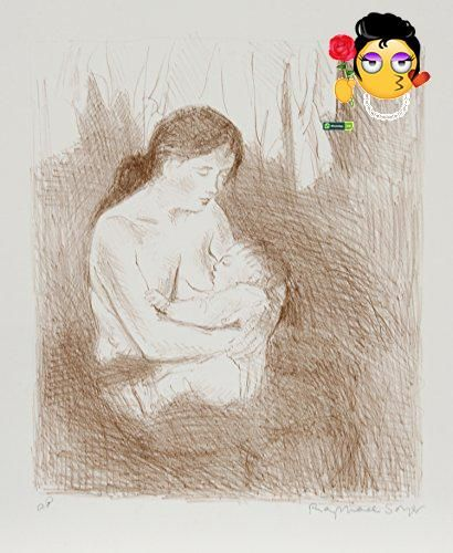 #prints This is an exemplary work by the artist, it will be a stunning addition to any space. #More Artwork Details: Artist: Raphael #Soyer, Russian/American (189...