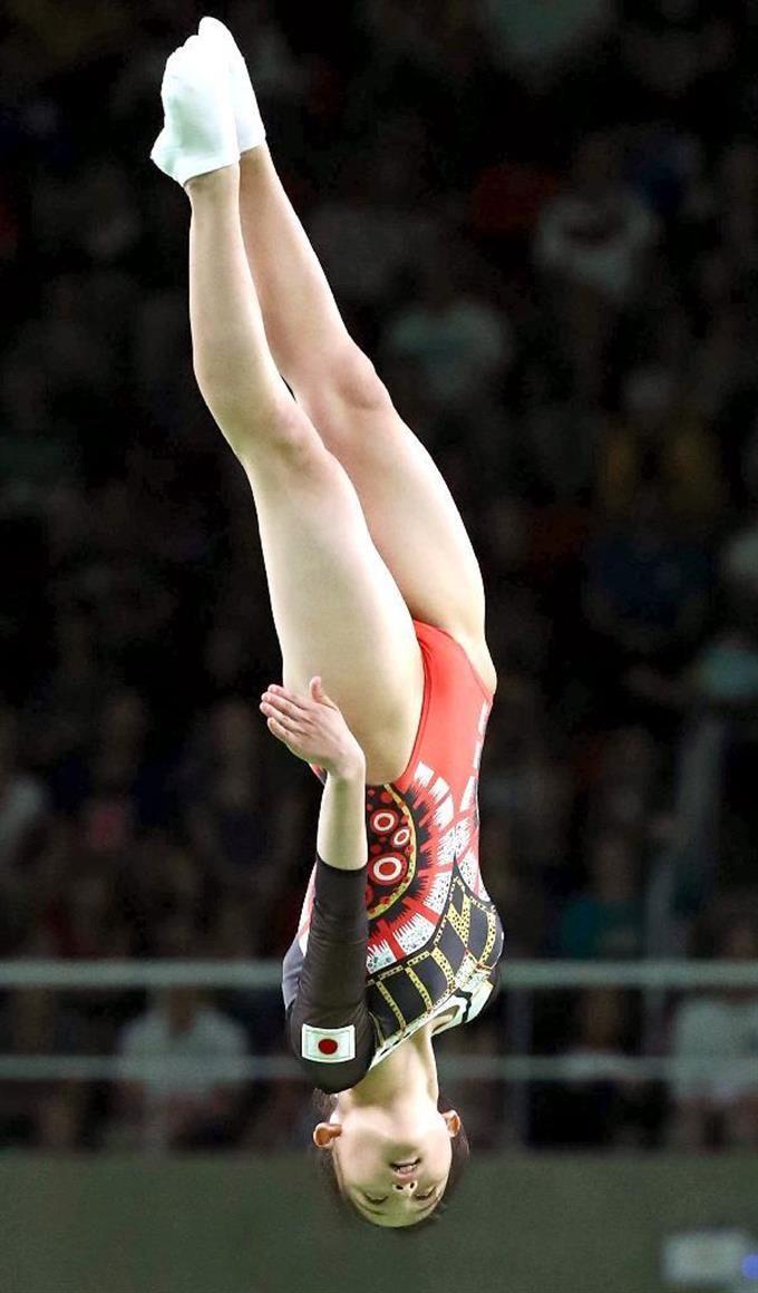 【五輪トランポリン】中野蘭菜は予選13位 決勝進めず #リオ五輪