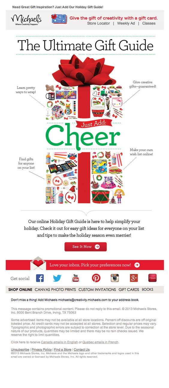 13+ Christmas Newsletter Ideas & Examples (55 Subject Line