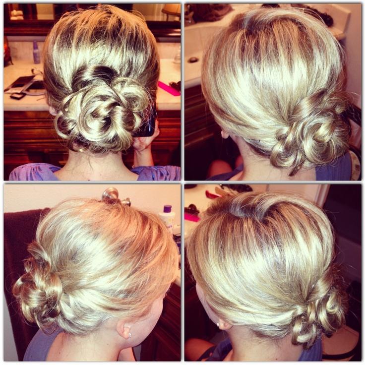 Enjoyable Dressy Bun My Attempts Pinterest Buns Hairstyles For Women Draintrainus