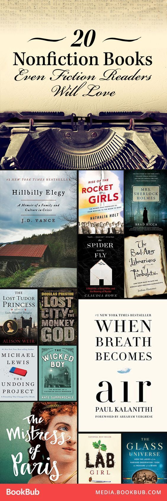 20 Mustread Nonfiction Books For Fans Of Fiction