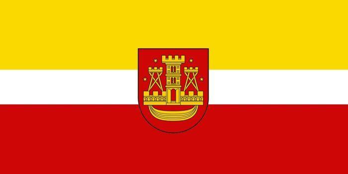 Flag Of Klaipeda By Otakumilitia Flag Unique Flags Flag Design