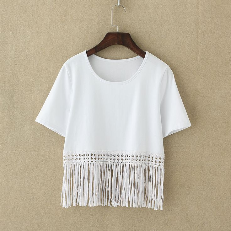 Tops Type: Tees Gender: Women Clothing Length: Short Sleeve Style: Regular Pattern Type: Solid Fabric Type: Broadcloth Material: Cotton,Polyester,Spandex Collar: O-Neck Sleeve Length: Short Colors: Bl