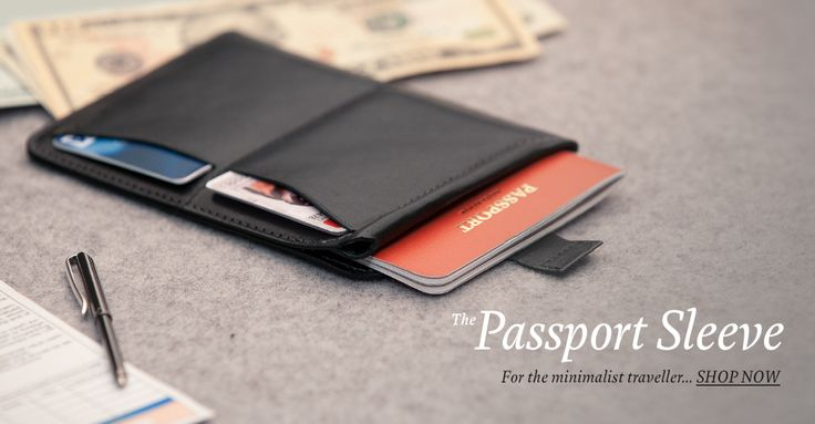 The Passport Sleeve Wallet