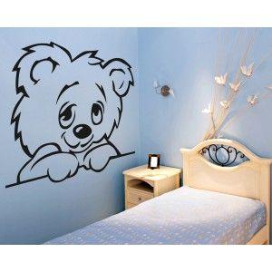Children's RoomTeddy Bear Wall Sticker from Wall Chimp