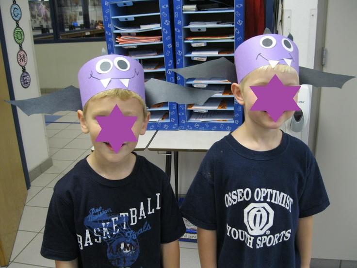 Kindergarten Rocks!: bat hats!