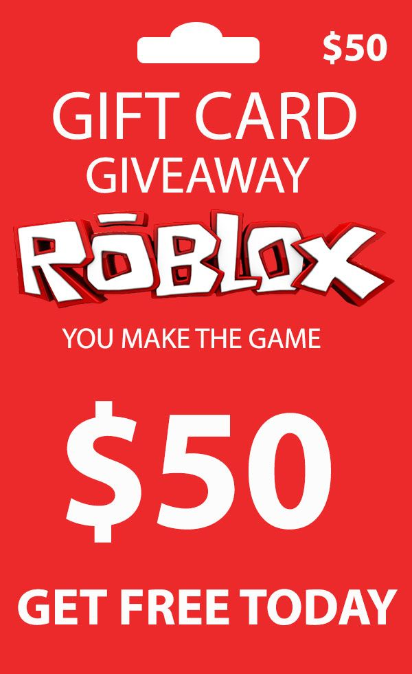 Get Free Roblox Gift Card Code And Buy Anything For Free On Roblox In 2021 Roblox Gifts Free Gift Card Generator Gift Card Generator