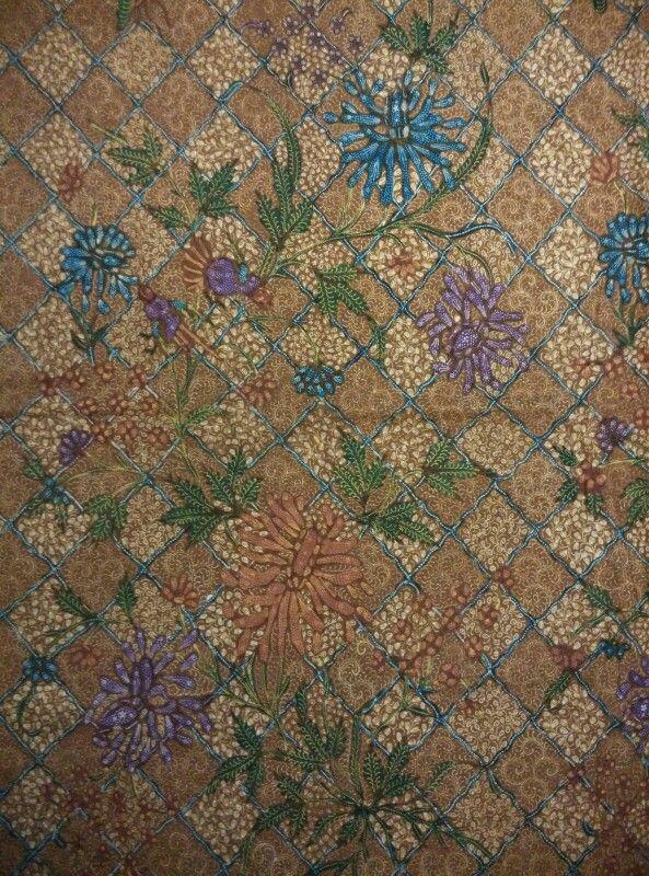 Batik demakan demak/kudus,1950 meticulous design.