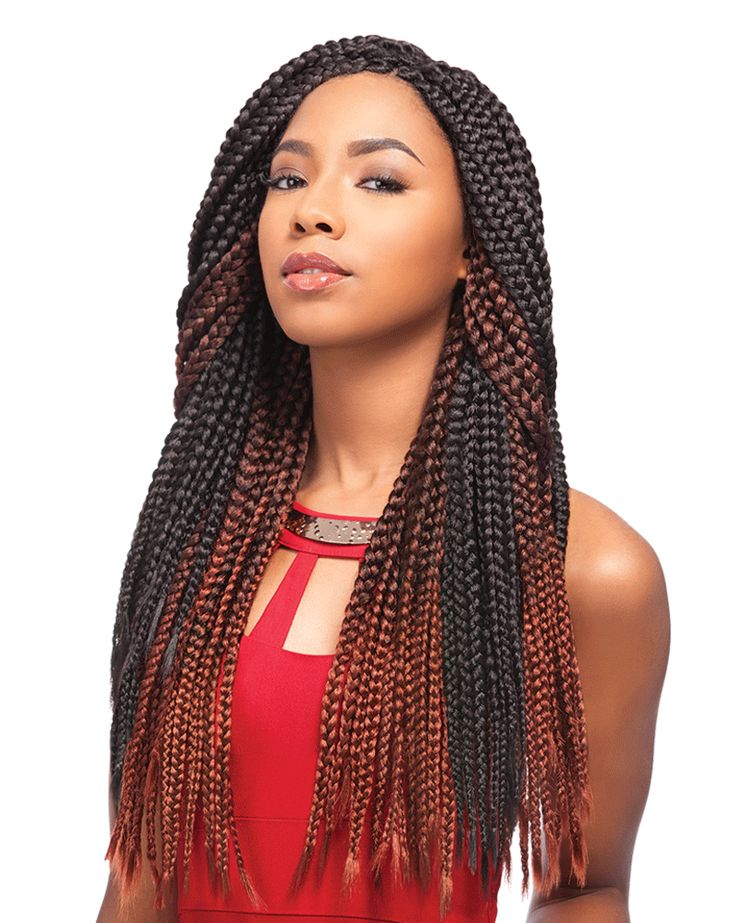 Sensationnel African Collection Crochet Braid - Senegal Box Braid 40