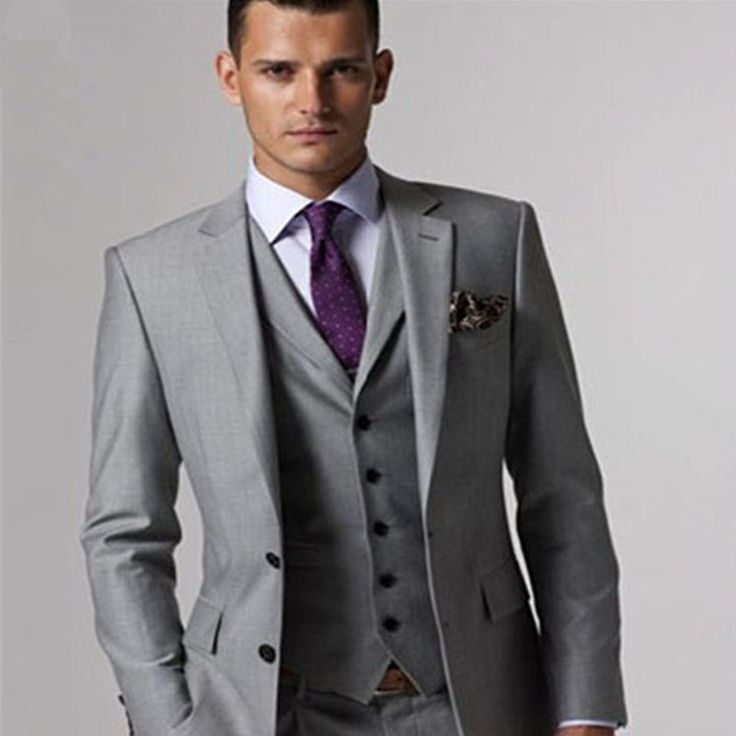 Best 25  Men's grey suits ideas on Pinterest | Grey suits, Mens ...